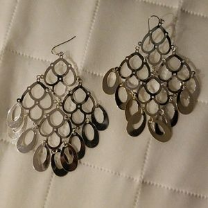 Oval Layered Earrings